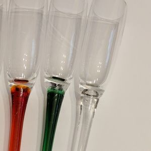 Holiday - Champagne Flutes